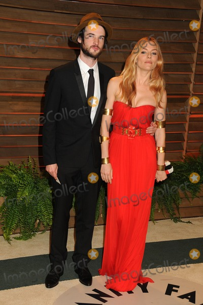 Sienna Miller,Tom Sturridge Photo - 2014 Vanity Fair Oscar Party