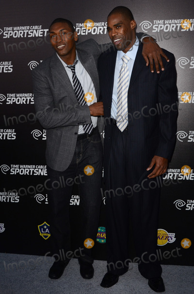 Antawn Jamison Photo - 01 October 2012 - El Segundo California - Metta World Peace Antawn Jamison   Time Warner Sports Celebrates Launch Of Time Warner Cable Sportsnet And Time Warner Cable Deportes Networks held at Beverly Hills Hotel Photo Credit Tonya WiseAdMedia