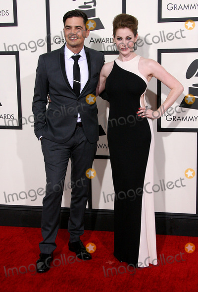 Andy Caldwell Photo - 26 January 2014 - Los Angeles California - Andy Caldwell Esme Bianco 56th GRAMMY Awards held at the Staples Center Photo Credit AdMedia