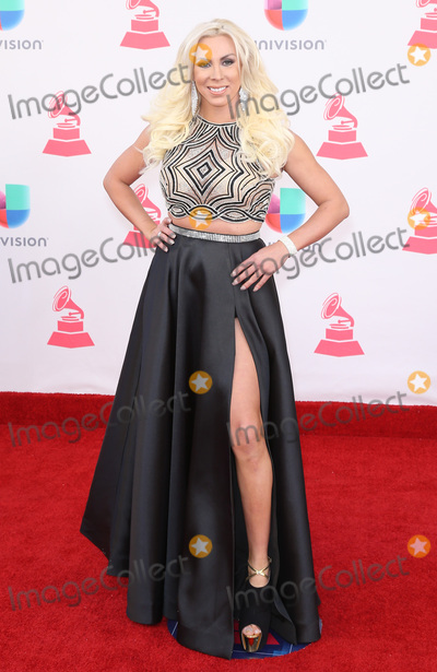 Abigail Pereira Photo - 17 November 2016 - Las Vegas NV - Abigail Pereira  2016 Latin Grammy arrivals at T-Mobile Arena  Photo Credit MJTAdMedia