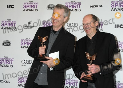 Alex Kotlowitz Photo - 25 February 2012 - Santa Monica California - Steve James Alex Kotlowitz 2012 Film Independent Spirit Awards - Press Room held at Santa Monica Beach Photo Credit Byron PurvisAdMedia