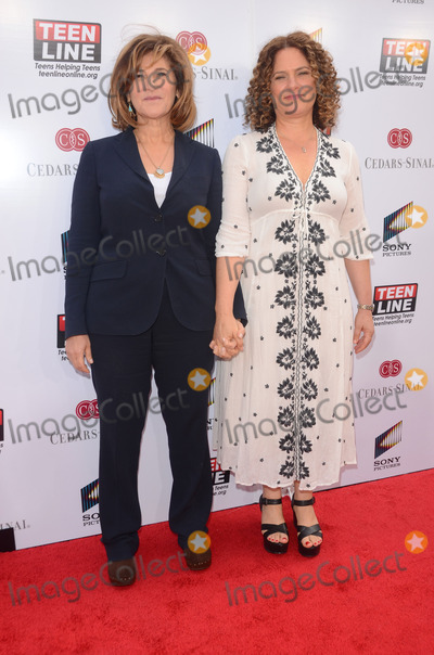 Amy Pascal Photo - 07 May 2014 - Culver City California - Amy Pascal Jenny Pascal TEEN LINE 2014 Food for Thought luncheon held at Sony Pictures Studios in Culver City Ca Photo Credit Birdie ThompsonAdMedia