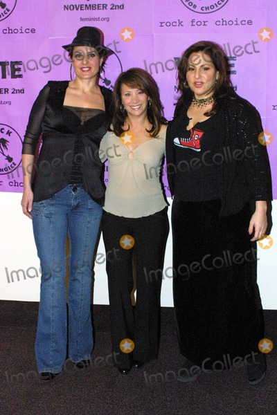 Nia Vardalos,Cheri Oteri,Kathy Najimy,THE ROCK,Cheri Oteri- Photo - Rock For Choice