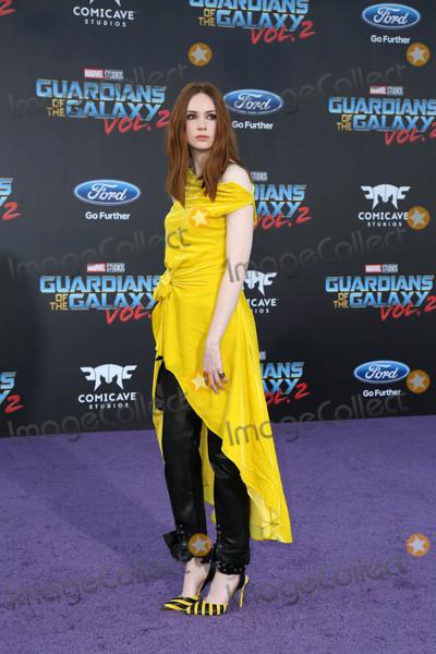 Karen Gillan Photo - Guardians of the Galaxy Vol 2  Los Angeles Premiere