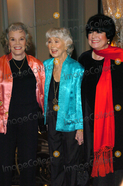 Nanette Fabray,Betty Garrett,Jo Anne Worley,Carol Channing,Jo Ann Worley Photo - Beverly Hills Theatre Guilds 25th Annual Dinner