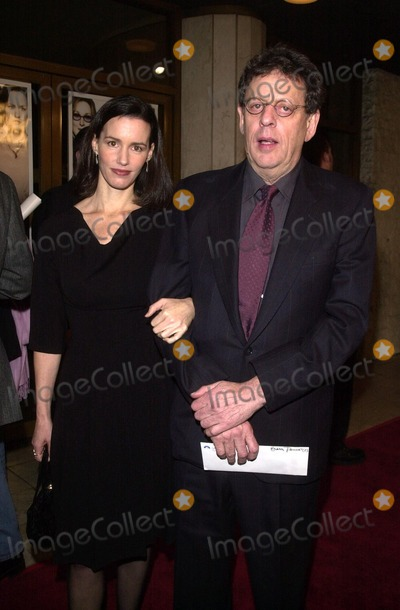Phillip Glass Photo - The Hours Premiere