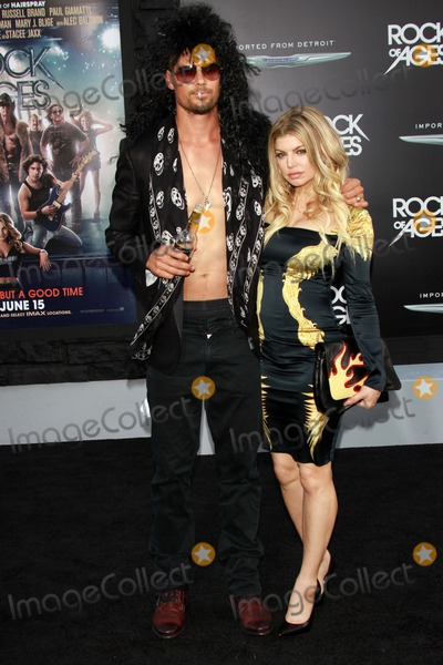 Josh Duhamel,Stacy Ferguson Photo - World Premiere of Rock of Ages