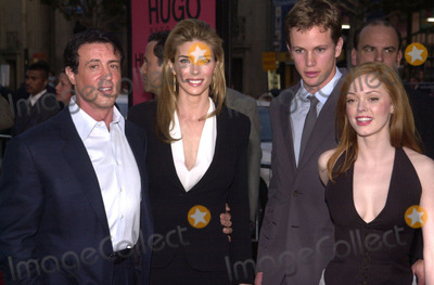 Kip Pardue Photo -  Sly Stallone Jennifer Flavin Kip Pardue and Rose McGowan at the premiere of Warner Brothers Driven at the Chinese Theater Hollywood 04-16-01