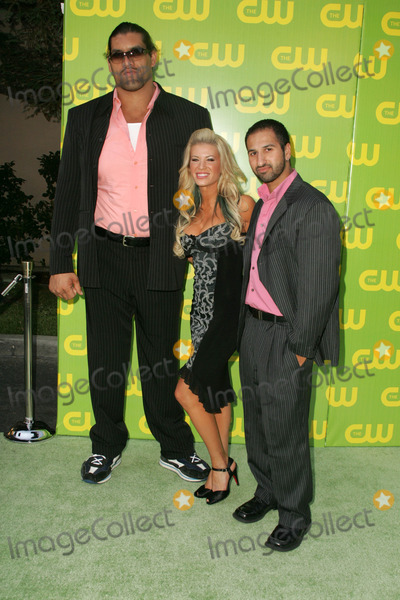 Dalip Singh Photo - Dalip Singh with Ashley Massaro and Shawn Daivariat The CW Launch Party WB Main Lot Burbank CA 09-18-06