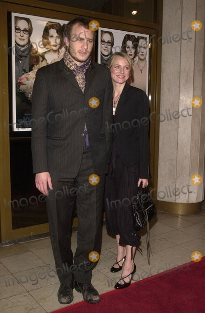 Heath Ledger,Naomi Watts Photo - The Hours Premiere