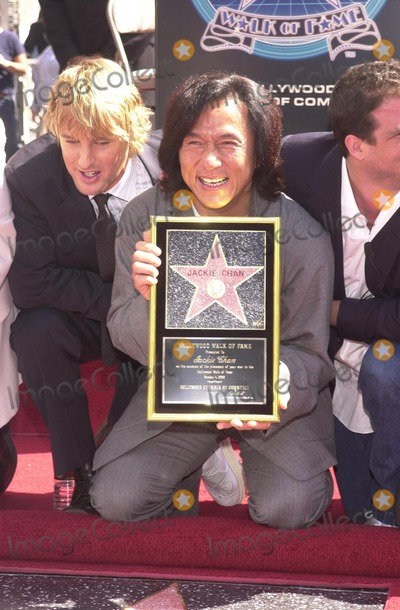 Jackie Chan,Owen Wilson Photo - Jackie Chan Star on the Walk of Fame