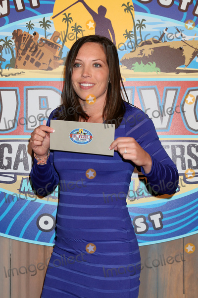 Photo - Sarah Lacina Winnerat the Survivor Game Changers - Mamanuca Islands Finale CBS Studio Center Studio City CA 05-24-17