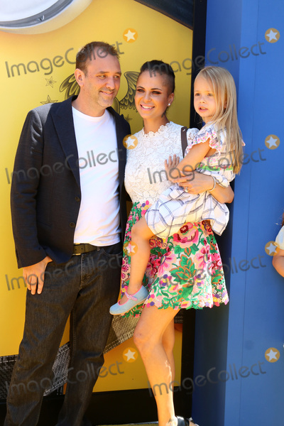 Photo - LOS ANGELES - JUN 24  Trey Parker Boogie Tillmon Betty Parker at the Despicable Me 3 Premiere at the Shrine Auditorium on June 24 2017 in Los Angeles CA