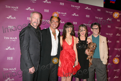 Alan Cumming,Kathleen Robertson,Neal Mc DONOUGH,Zooey Deschanel,Alan Cummings,Raoul Trujillo Photo - Tin Man Premiere