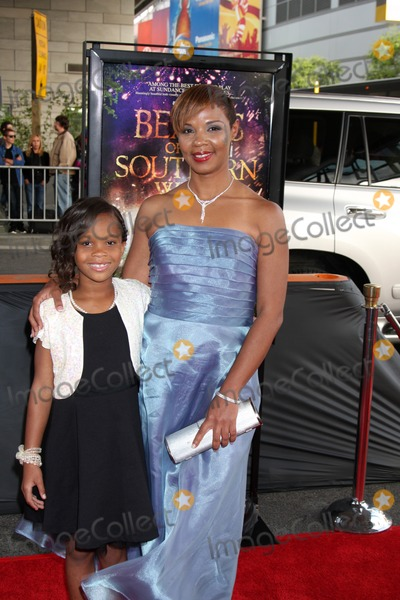 Jovan Hathaway,Quevenzhane Wallis Photo - Beast of the Southern Wild LAFF Premiere