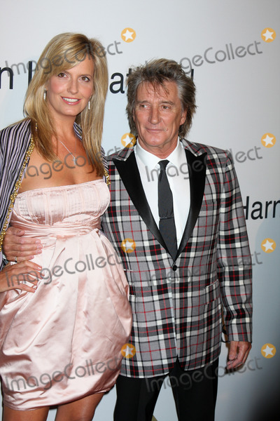 Rod Stewart,Clive Davis Photo - Pre-Grammy Party IHO Clive Davis