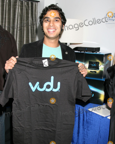 Kunal Nayyar,Vudu Photo - GBK Gifting Suite