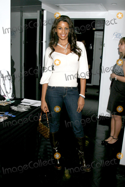 Claudia Jordan,Jordan Ware Photo - GBK Gifting Suite
