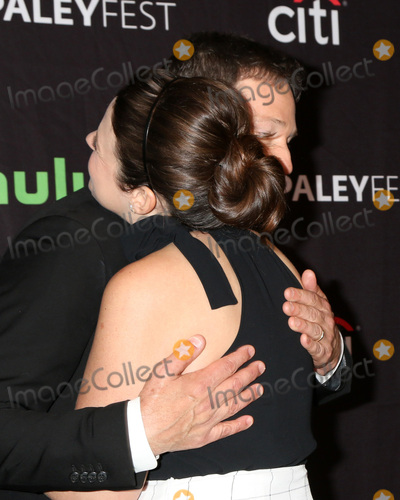 Photo - LOS ANGELES - MAR 26  Katie Lowes George Newbern at the 34th Annual PaleyFest Los Angeles - Scandal at Dolby Theater on March 26 2017 in Los Angeles CA