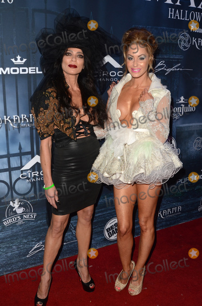 Photo - LOS ANGELES - OCT 22  Carlton Gebbia Melanie Marden at the 2016 Maxim Halloween Party at Shrine Auditorium on October 22 2016 in Los Angeles CA