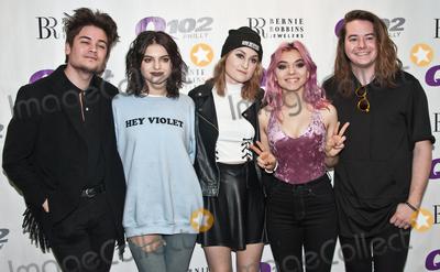 Photo - BALA CYNWYD PA USA - MARCH 23 American Pop Rock Band Hey Violet Visit Q102s Performance Theatre on March 23 2017 in Bala Cynwyd Pennsylvania United States (Photo by Paul J FroggattFamousPix)