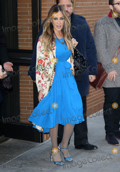 Photos From Sarah Jessica Parker is seen arriving to 'The View'