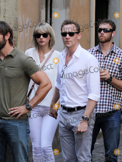 Photos From Taylor Swift and Tom Hiddleston are seen in Rome, Italy