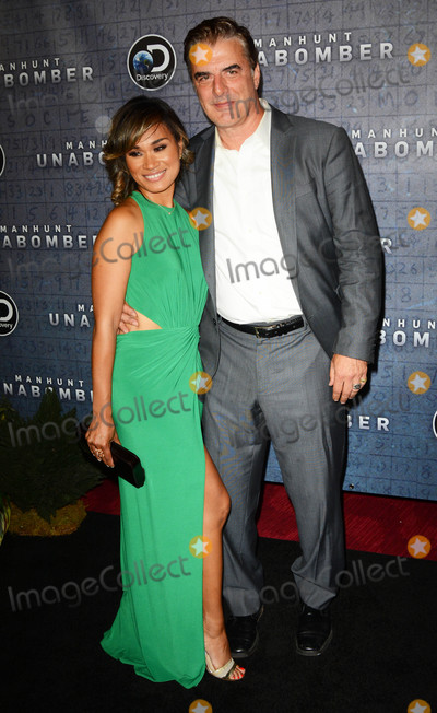 Photo - Photo by Patricia SchleinstarmaxinccomSTAR MAXCopyright 2017ALL RIGHTS RESERVEDTelephoneFax (212) 995-119671917Tara Wilson and Chris Noth at the premiere of Discoverys Manhunt Unabomber in New York City(NYC)