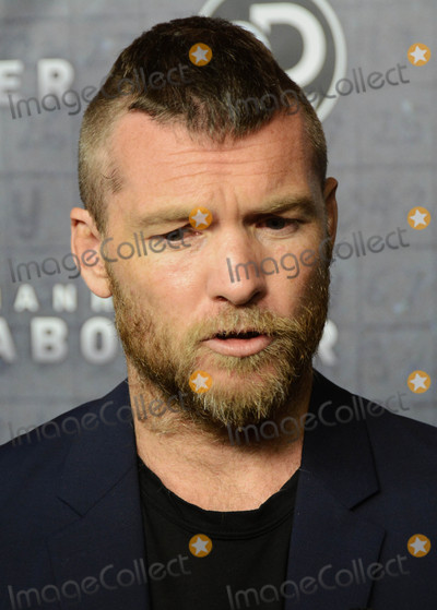 Photo - Photo by Patricia SchleinstarmaxinccomSTAR MAXCopyright 2017ALL RIGHTS RESERVEDTelephoneFax (212) 995-119671917Sam Worthington at the premiere of Discoverys Manhunt Unabomber in New York City(NYC)
