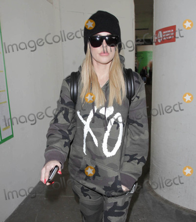 Photos From Khloe Kardashian is seen at LAX Airport