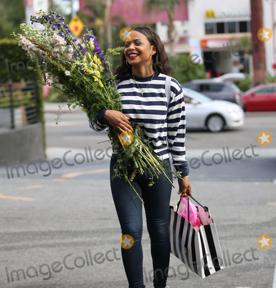 Photos From Christina Milian is seen in Los Angeles, CA