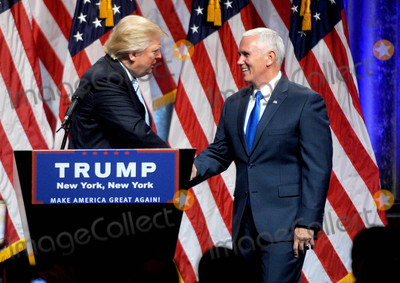 Photos From Donald Trump announces Mike Pence as his VP Pick