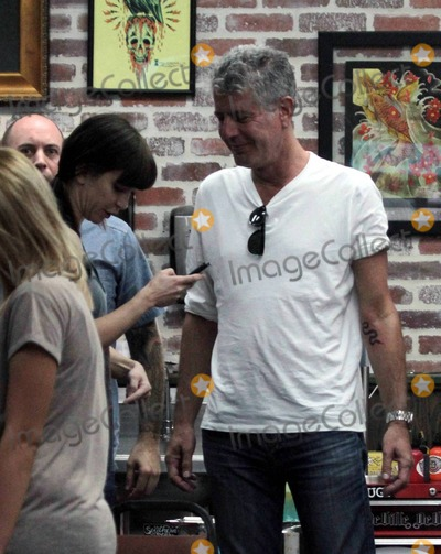 pictures from anthony bourdain new tattoo. Black Bedroom Furniture Sets. Home Design Ideas