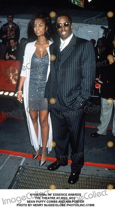 Sean Puffy Combs Photo -  98 Essence Awards the Theatre at Msg NYC Sean Puffy Combs and Kim Porter Photo by Henry McgeeGlobe Photosinc