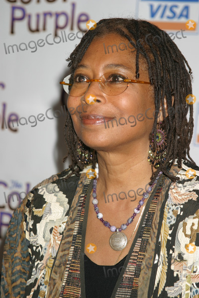 Alice Walker Photo - NYC  120105Alice Walker at the opening night party for the new musical THE COLOR PURPLE at the NY Public LibraryDigital Photo by Adam Nemser-PHOTOlinknet