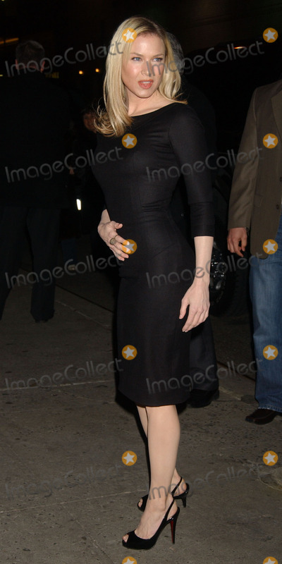 Pictures From RENEE ZELLWEGER AT THE LETTERMAN SHOW
