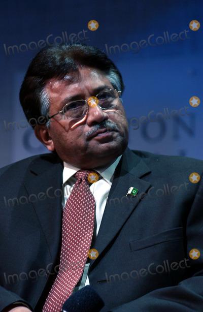 Pervez Musharraf Photo - President of Islamic Republic of Pakistan Pervez Musharraf on stage during the Clinton Initiative Annual Meeting