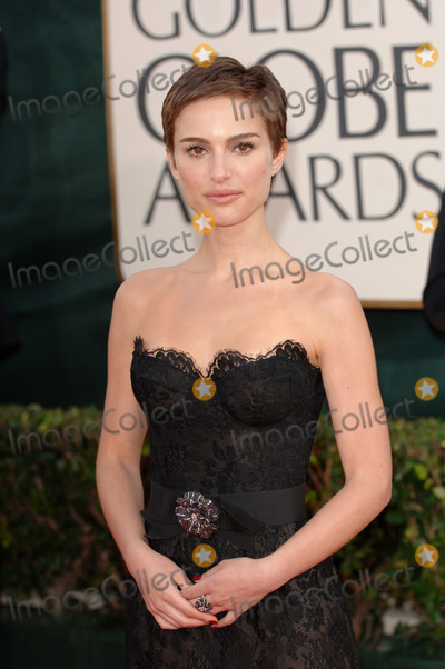 Natalie Portman Photo - Golden Globe Awards