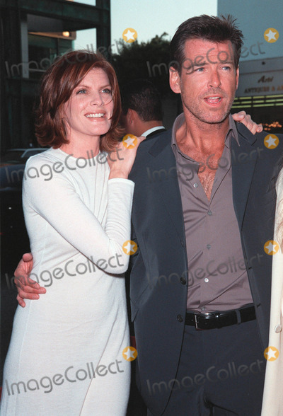 RENEE RUSSO,Pierce Brosnan,Rene Russo Photo - Thomas Crown Affair premiere