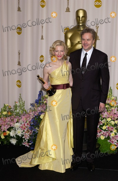 Cate Blanchett,Tim Robbins,CATE BLANCHETTE Photo - Academy Awards