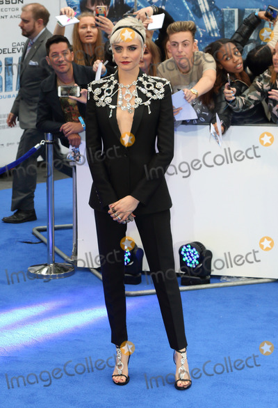 Cara Delevingne Photos - London UK Cara Delevingne at Valerian And The City Of A Thousand Planets - European film premiere - at the Cineworld Empire Leicester Square London on July 24th 2017Ref LMK73-J558-250717Keith MayhewLandmark MediaWWWLMKMEDIACOM
