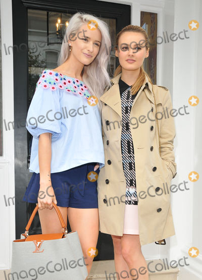 Photo - LondonUK  Victoria Magrath and Niomi Smart  at the Tanya Bakes debut cookbook launch party  private dinner Number Sixteen Sumner Place London 30 June 2016 RefLMK315-60783-010716  Can NguyenLandmark Media WWWLMKMEDIACOM
