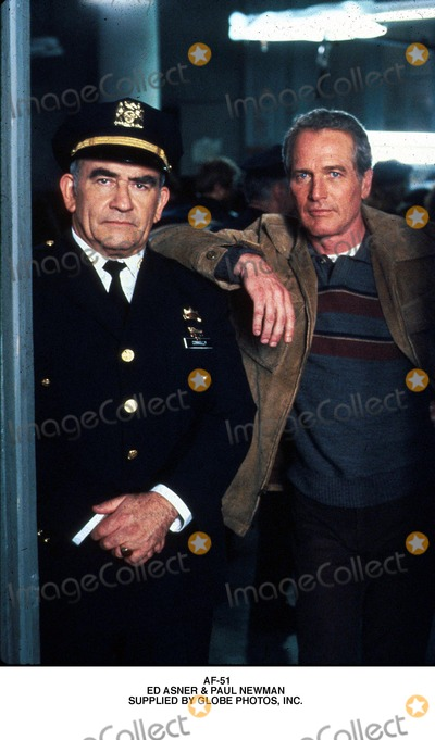 Paul Newman Photo - Af-51 Ed Asner  Paul Newman Supplied by Globe Photos Inc