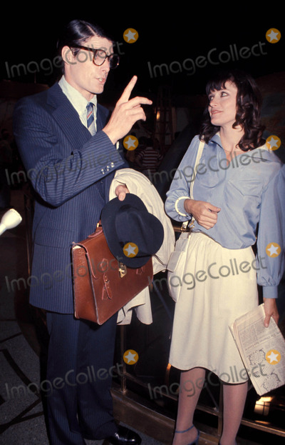 Christopher Reeve,Margot Kidder Photos - 1977 Margot Kidder and Christopher Reeve Photo by Bob DeutschGlobe Photos