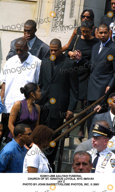 Jay-Z,Jay Z,Aaliyah Photo - Archival Pictures - Globe Photos - 89546