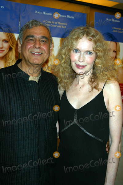 Mia Farrow Photo - Ismail Merchant and Mia Farrow K32139smo the New York Premiere of Le Divorce at the Paris Theater New York City 08052003 Photo by Sonia MoskowitzGlobe Photos Inc