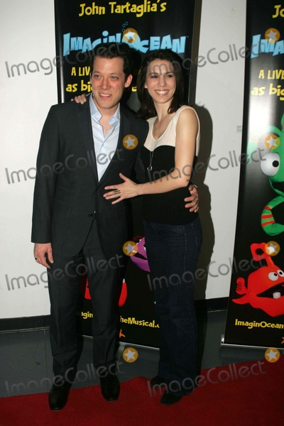 Christy Carlson Romano,John Tartaglia Photo - Imaginocean Opening Night New York City