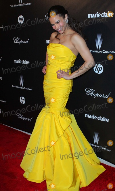 Paula Patton Photo - The Weinstein Companys 2012 Golden Globe Awards After Party - Arrivals