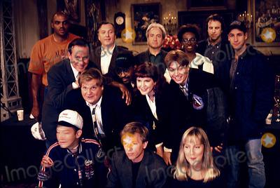 Adam Sadler Photo - Saturday Night Live 09-21-1993 Photo John Cordes-Globe Photos Inc 1993 Rob Schneider Chris Farley Adam Sadler Mike Meyers David Spade Charles Barkley