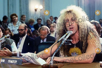 Twisted Sister,Dee Snider,Lyric Photo - Archival Pictures - Globe Photos - 58432